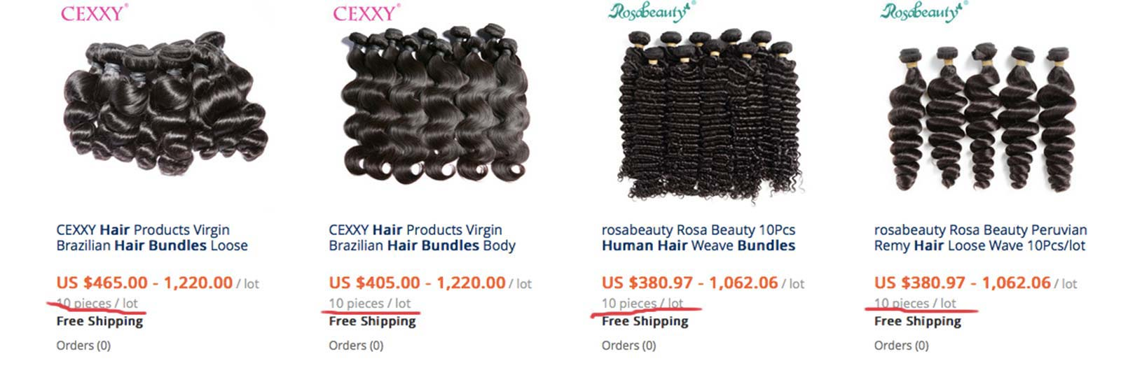 Wholesale Hair Bundles In Bulk From Aliexpress Is Available Again