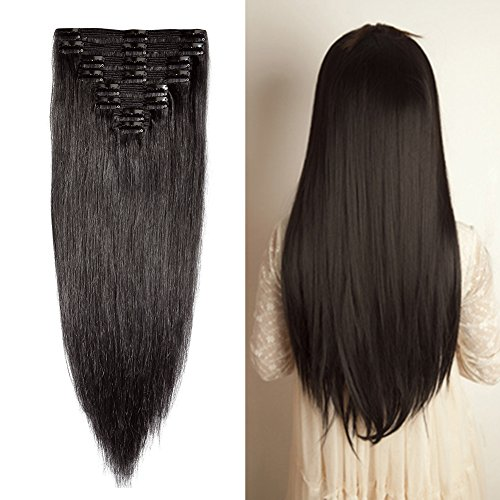 3 Best Clip-in Human Hair Extensions on Amazon 2018  76b2e46b9e5a